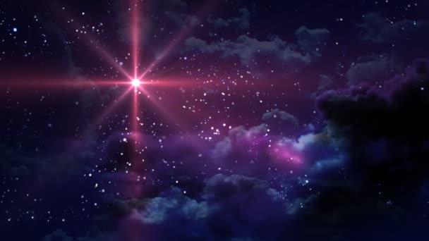 červená Hvězdné noci