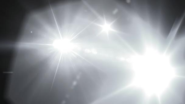 fekete-fehér kamera vakuval lens flare
