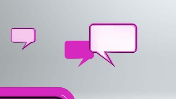 mangeta konverzace ikony