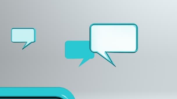 ikony modré konverzace