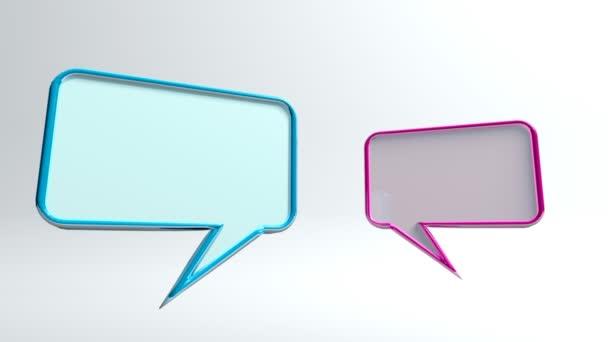 2 Conversation icons