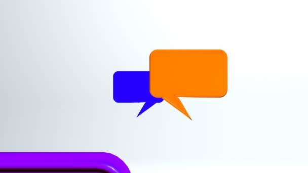 ikony barevné konverzace