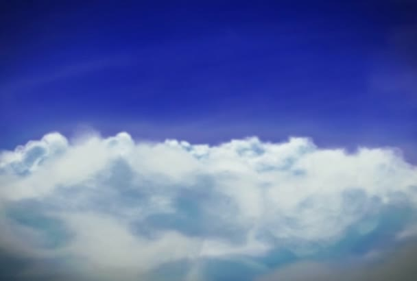 2d Cloud Animation NTSC