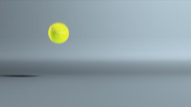 tenisový míč skákací Zpomalený pohyb