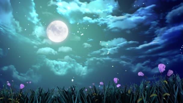 To je skvělé noci s květinami