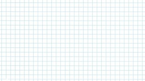 Mřížka papíru flip