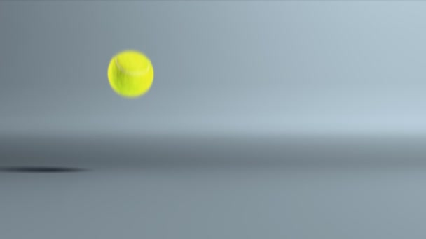 Tennis Ball Bouncing Slow Motion Stock Video C Realcg 26391711