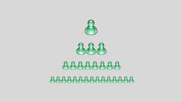 Zelená msn lidské ikony