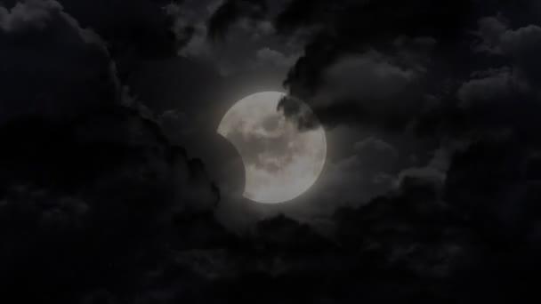 Dark moon eclipse