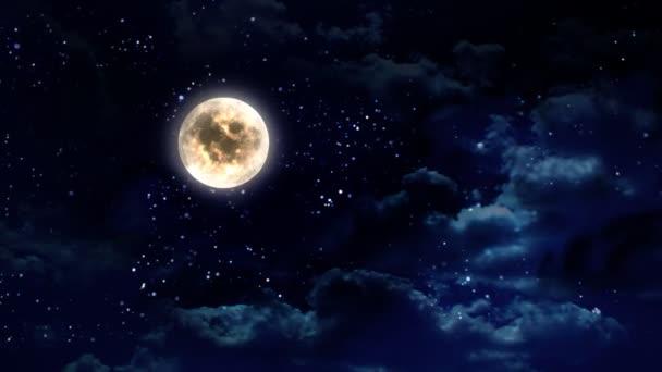jasné měsíční noci