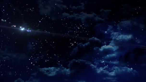 Night star flare