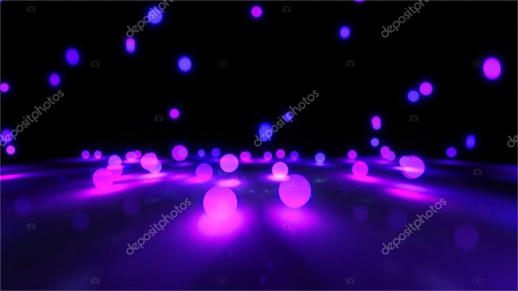Stuiterbal Met Licht : Paars licht stuiterballen u stockfoto realcg