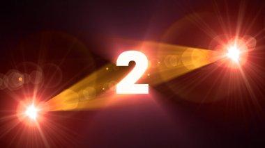 orange flare 2 background
