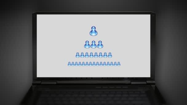 Počet ikon modré msn