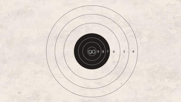 Lövés a cél összpontosít