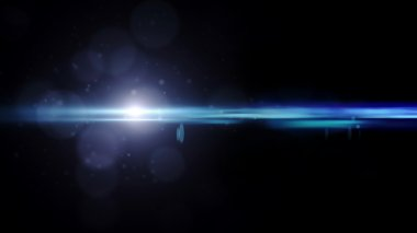 Lens Flares crossing of circle shape