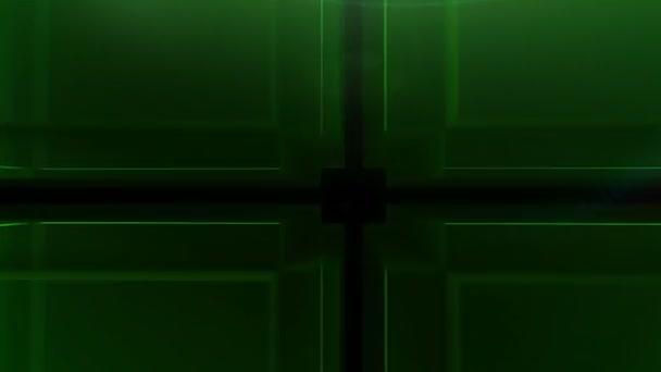 Digitální zelená kostka hd