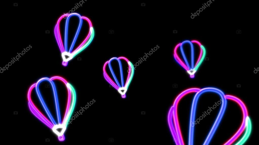 Ballonnen Met Licht : Nero leichte ballon rosa u2014 stockfoto © realcg #35099325
