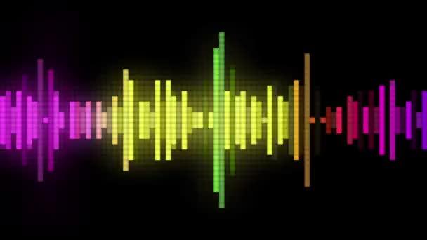 styl audio spektrální pixelů