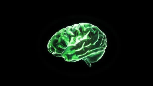 Green of X-ray Brain flare
