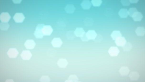 blu fiocchi di neve e cristalli di neve caduta sfondo di flare