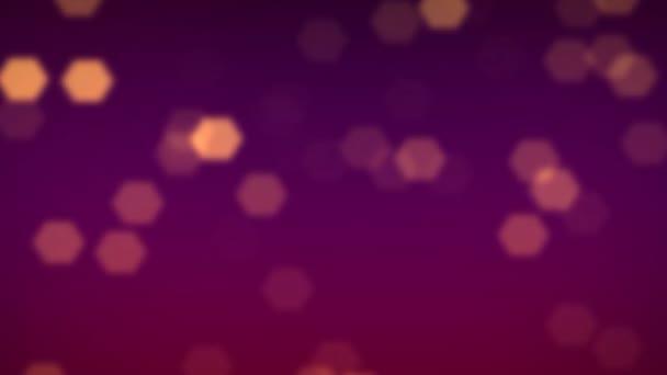 viola fiocchi di neve e cristalli di neve flare sfondo cadente