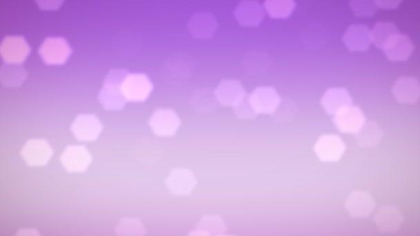 růžové vločky a sněhové krystaly záře padající pozadí
