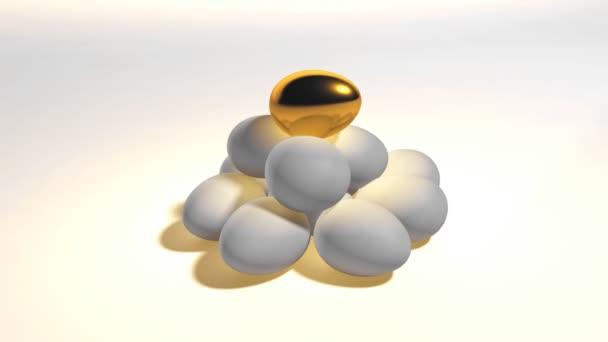 Tato 3d animace vejce