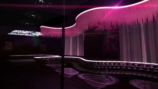 Karaoke night club led light dancing