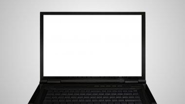 laptop monitor display white screen