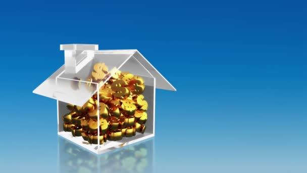 investiční úspory znak dolaru v domě sky hd