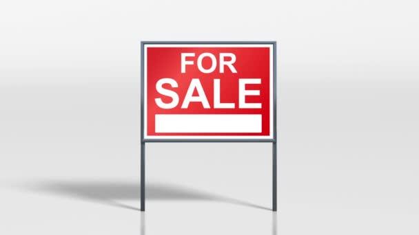 značení postavit dům na prodej a prodávané hd