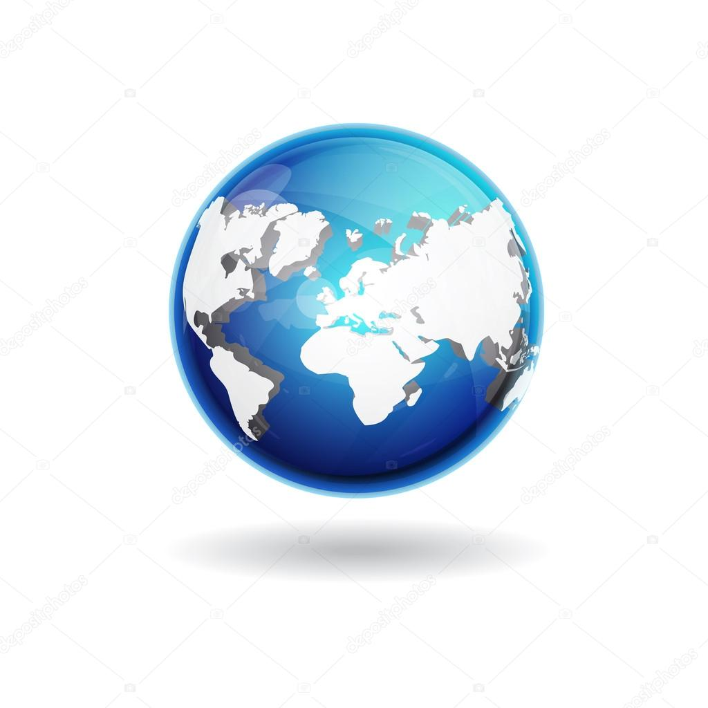 3d world map vector icon stock vector rizwanali3d 21423893 3d world map vector icon design vector by rizwanali3d gumiabroncs Choice Image