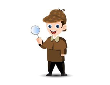 Detective Mascot