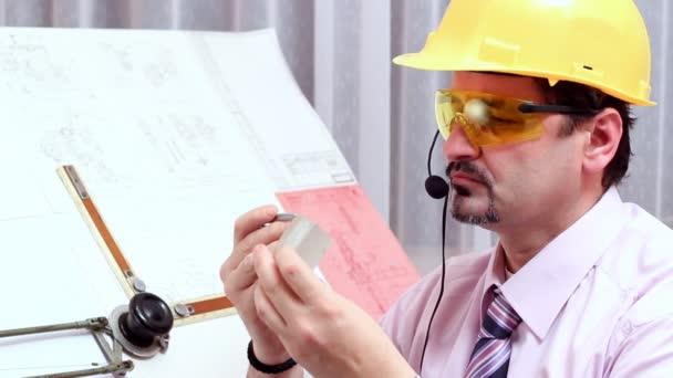 Ingenieur bei der Arbeit