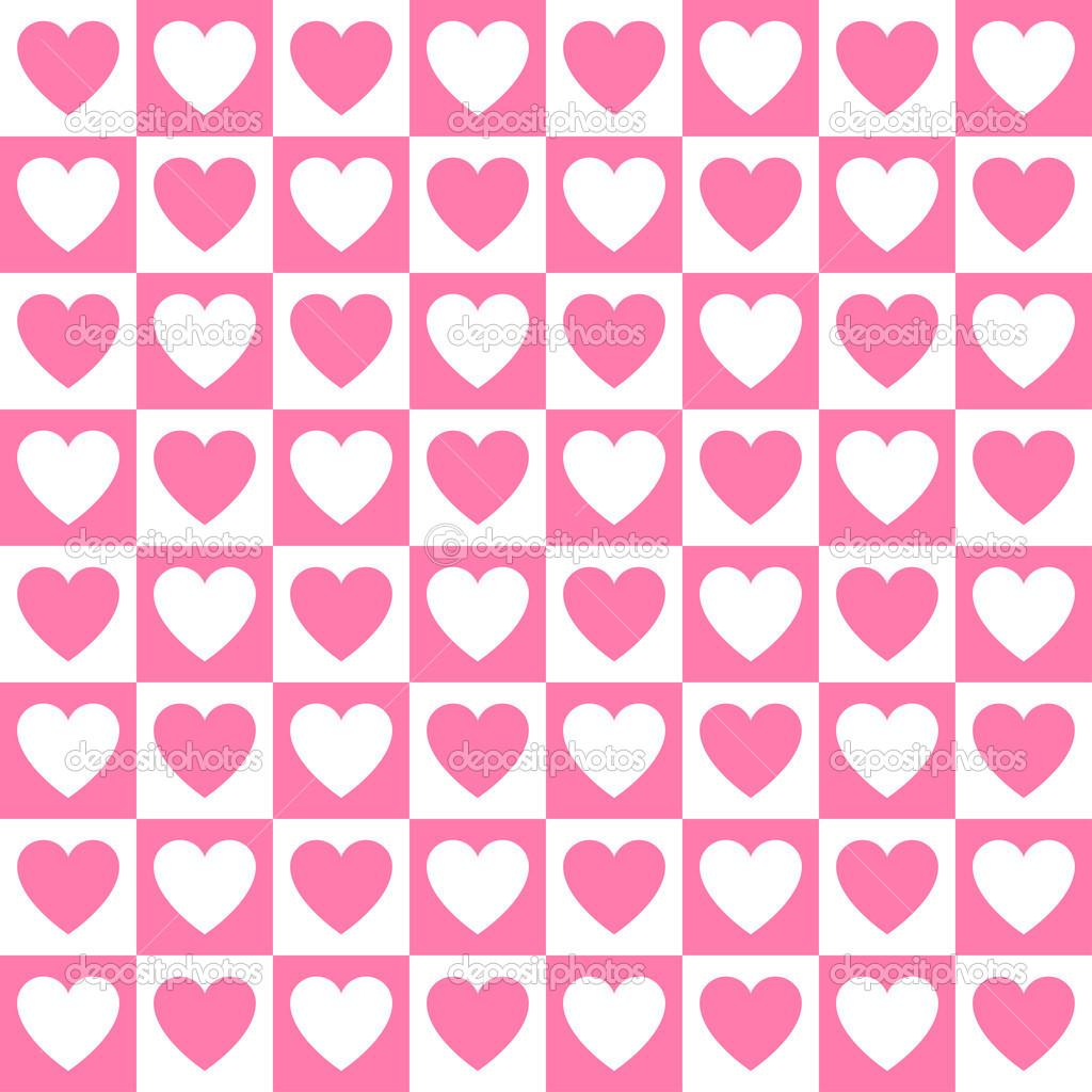 fundo coração rosa — Vetor de Stock © ggebl #41704503