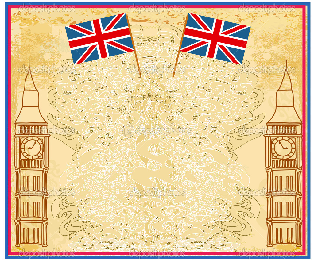 этот оформление английских открыток около фото
