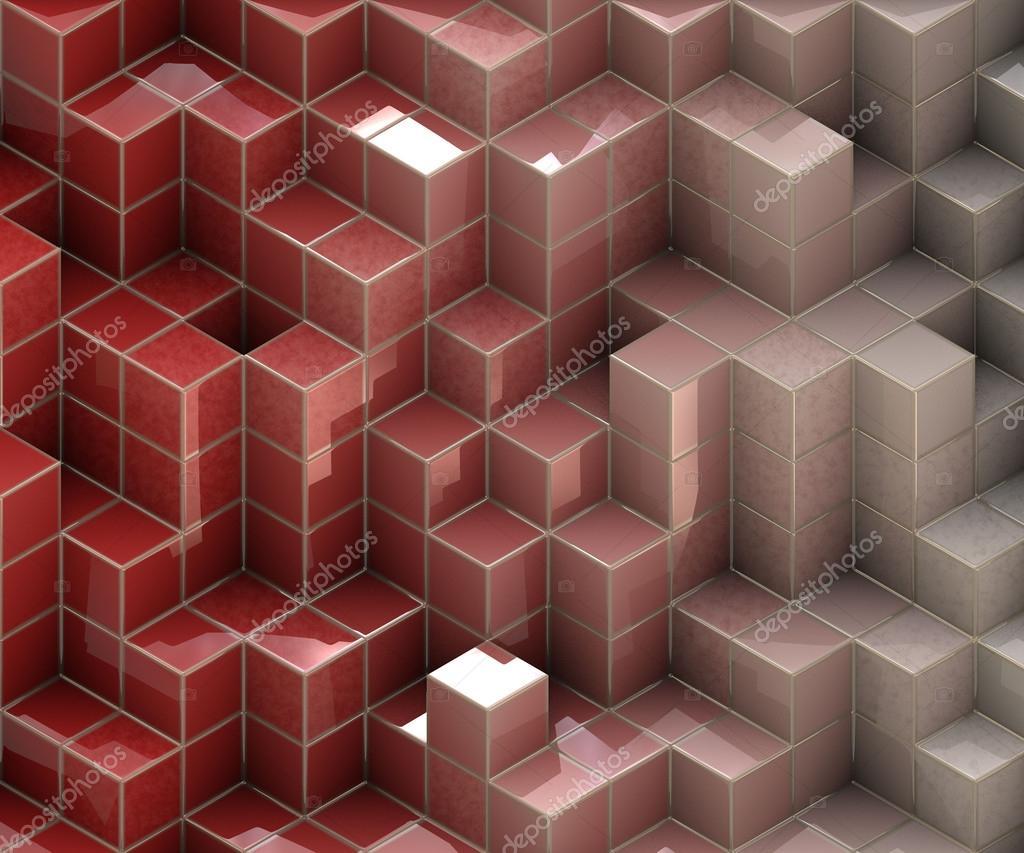rote Würfel Textur — Stockfoto © italianphoto #39399801