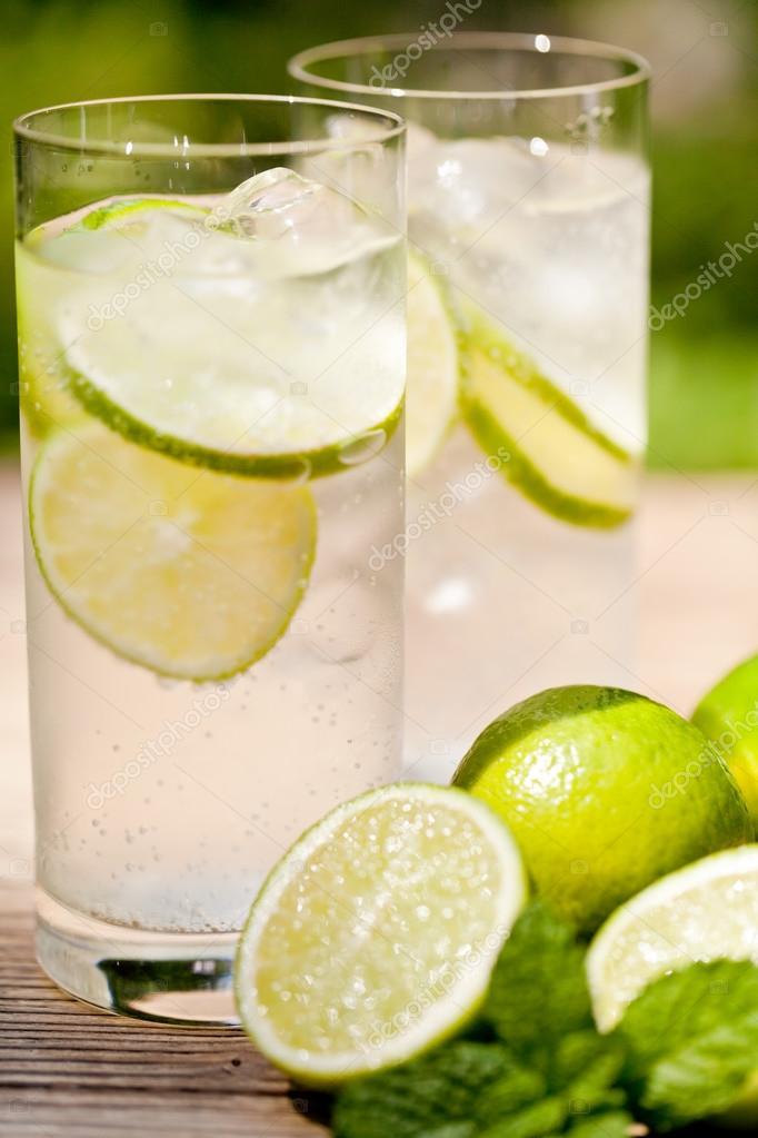 eau froide citron