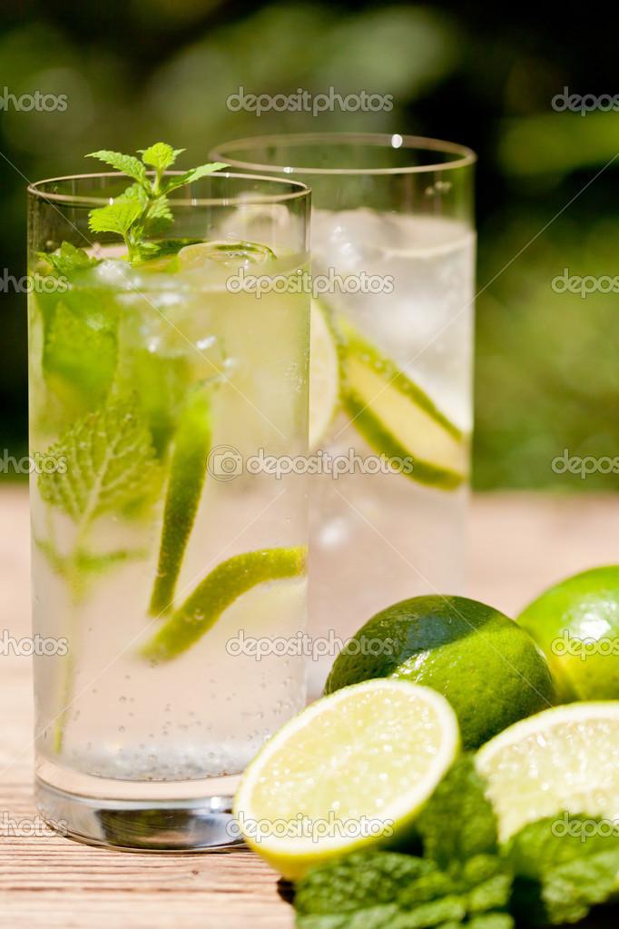 citron et eau froide