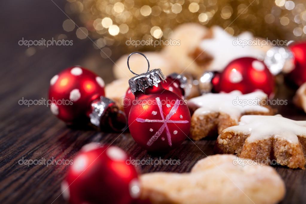frisch lecker Weihnachten Zimt-Cookies und Stöcke-Dekoration ...