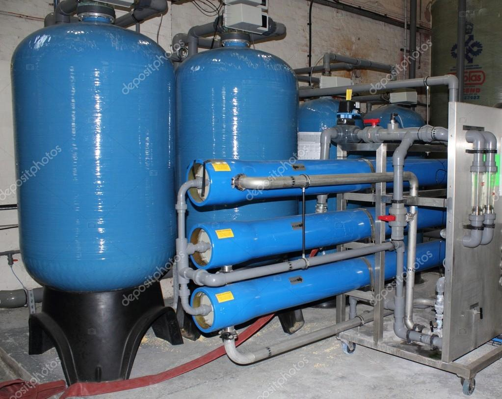 Industrial boiler water plant — Stock Photo © 1markim #21383191