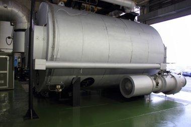 Industrial duel fuel 35000 lbs steam boiler