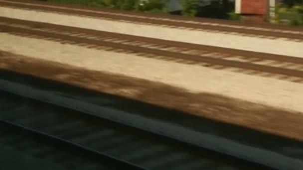 Bewegung über die Gleise