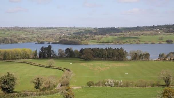 Blagdon jezero somerset somerset Anglie uk od bristol poskytuje pitnou vodu, ale působí také jako rybolov jezero a přírodní rezervace