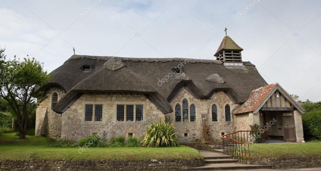 St chiesa di paglia agnes acqua dolce baia isola di wight for Piani di costruzione di cottage gratuiti