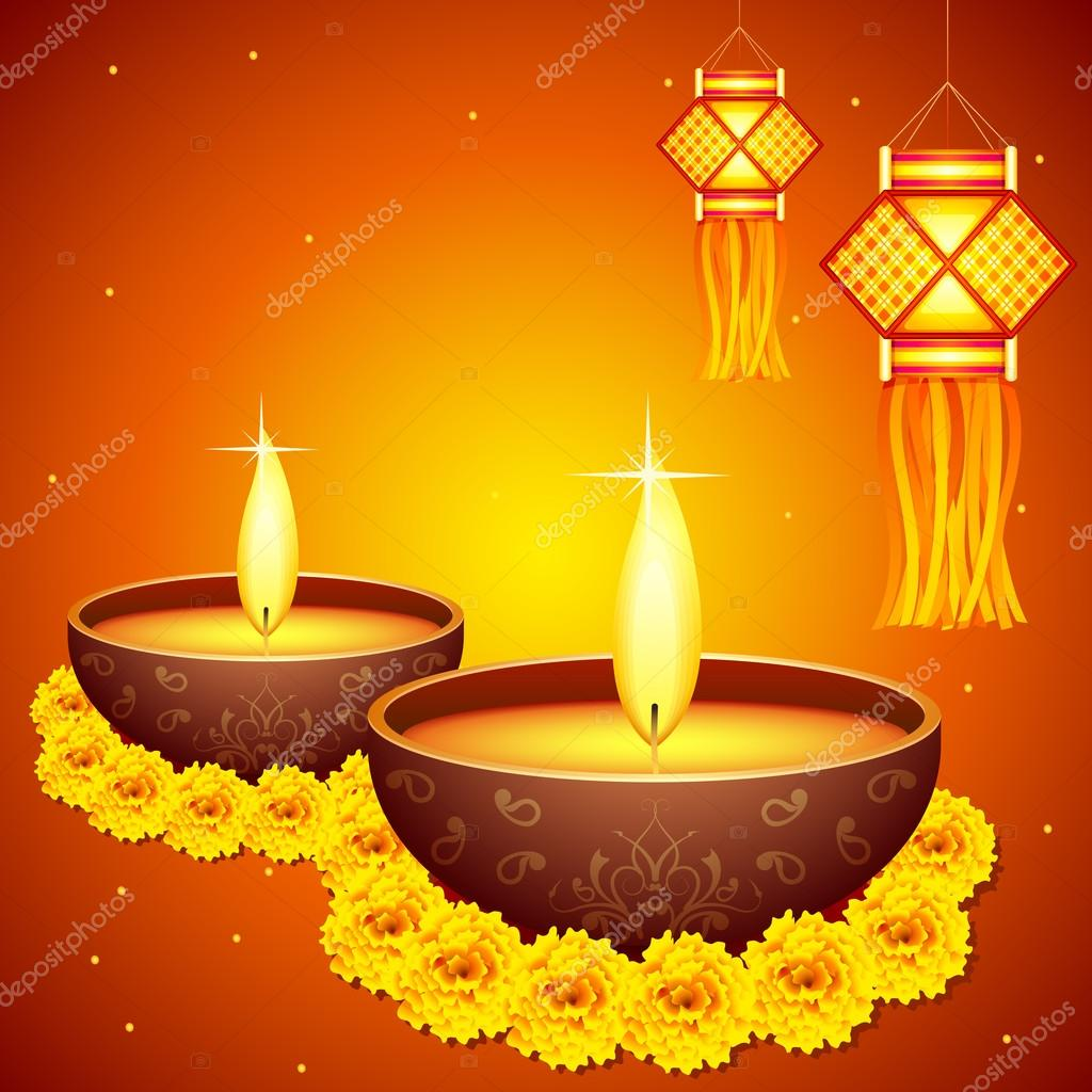 Diwali decoration stock vector stockshoppe 13610295 for Decoration images