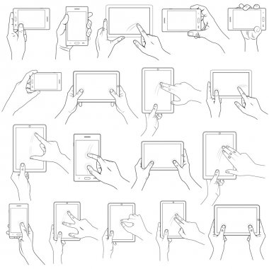 Hand Gesture for Touchscreen