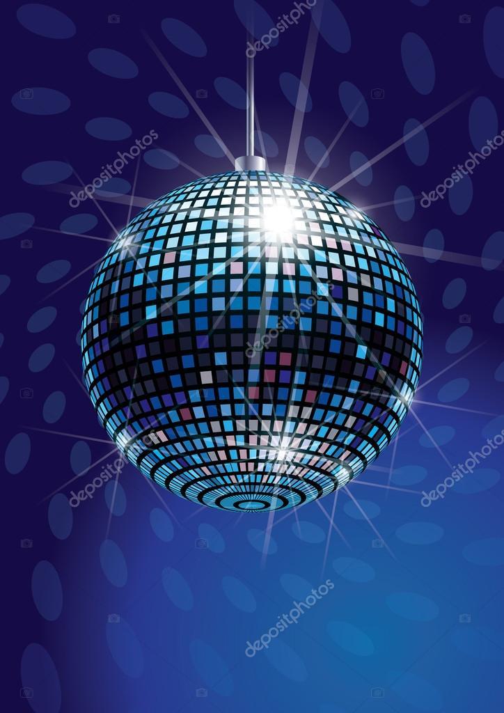 Mirror Disco Ball Stock Vector