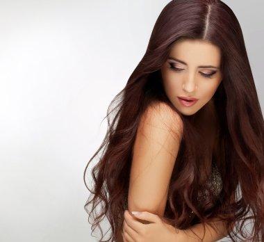 Long Hair. Good quality retouching